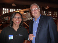 Liem Nguyen (Compellent) and Kirby Wadsworth (F5 Networks)