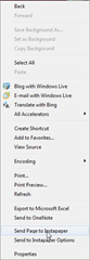 Add-on Context Menu