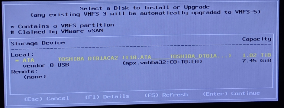 Upgrading my home lab from ESXi 6 0 to ESXi 6 7 – Justin Braun